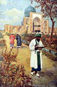 220px-At_the_Tomb_of_Omar_Khayyam_-_by_Jay_Hambidge